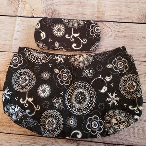 ❤❤❤Thirty-One Floral Purse Skirt and Wallet❤❤❤